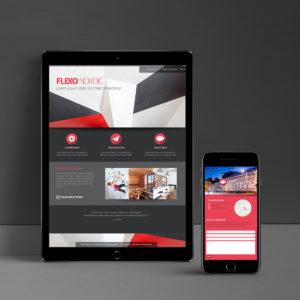 Flexo Nordic verkkosivut