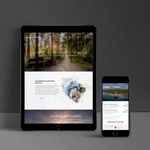Kauppi-Niihama verkkosivut