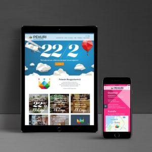 Kauppakortteli Pekuri verkkosivut