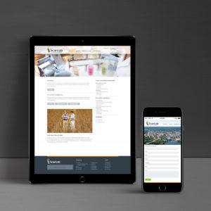 ScanLab verkkosivut