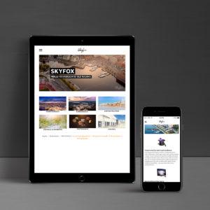 Skyfox verkkosivut