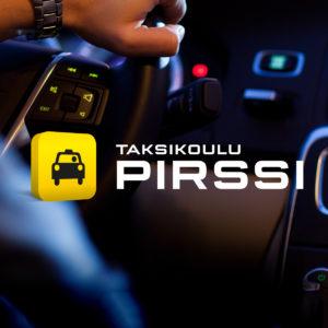 Taksikoulu Pirssi brändäys
