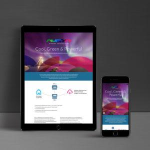 Aurora Datacenter verkkosivut